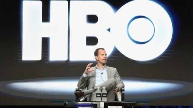 Il presidente di HBO Casey Bloys a una convention
