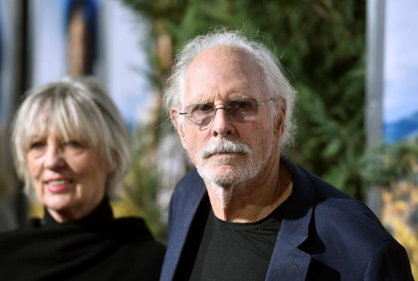 Bruce Dern fotografato con la moglie Andrea Beckett