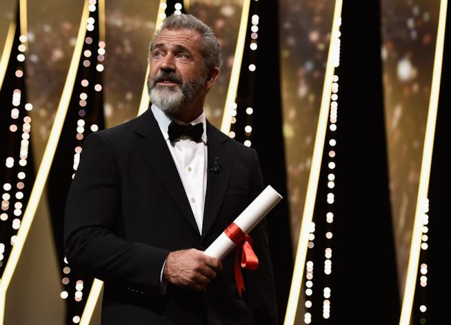 Mel Gibson a Cannes 2016
