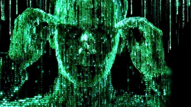 Neo e il codice di Matrix