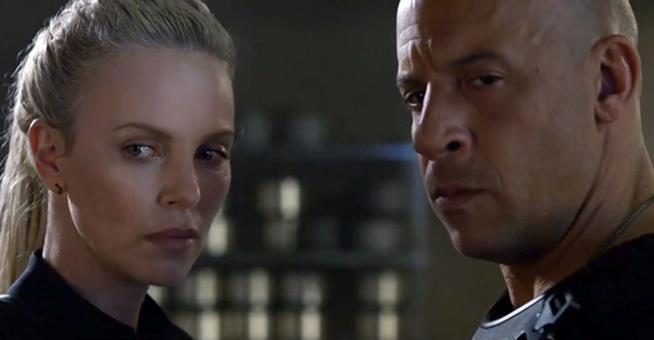 Fast & Furious 8 - il protagonista e il villain