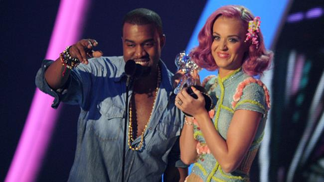 Kanye West e Katy Perry agli MTV Awards