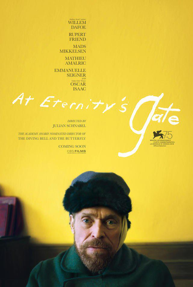 At Eternity's Gate - il poster