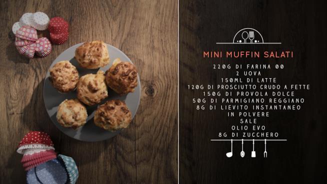 La ricetta dei mini muffin salati