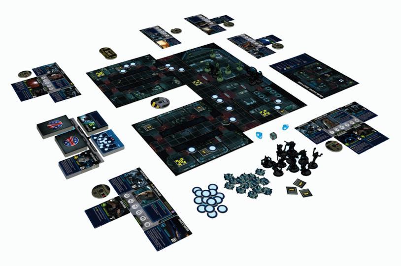 Aliens board game