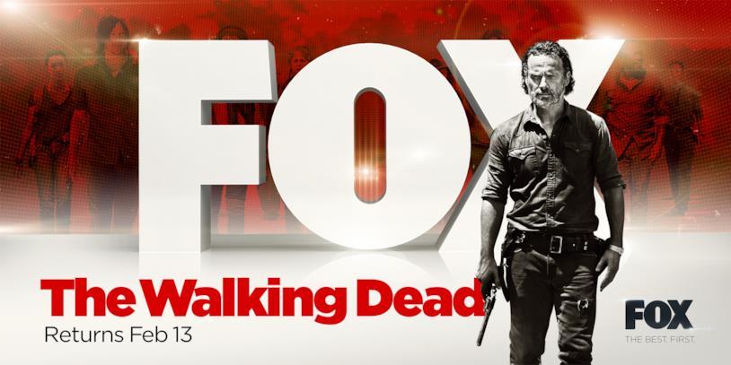 The Walking Dead dal 13 febbraio
