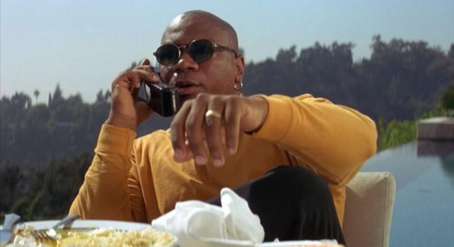 Marcellus Wallace in una scena di Pulp Fiction