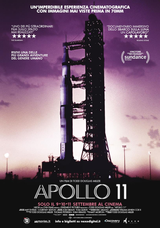 Il poster ufficiale di Apollo 11