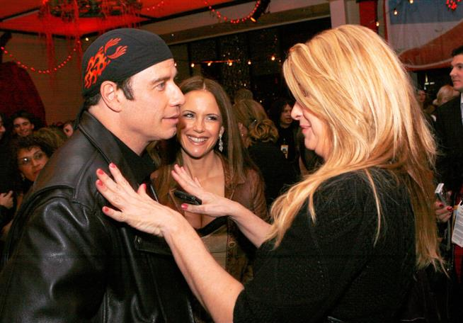 John Travolta e Kirstie Alley