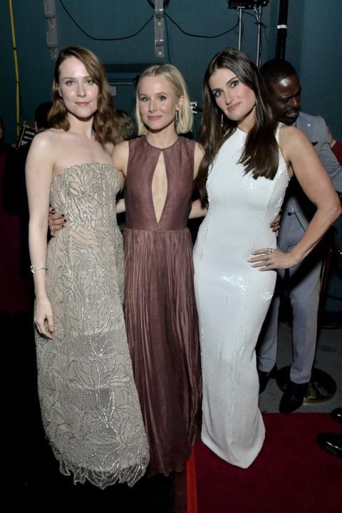 Idina Menzel, Kristen Bell e Evan Rachel Wood