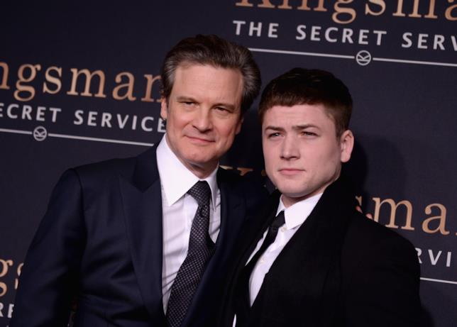 Colin Firth e Taron Egerton promuovono Kingsman