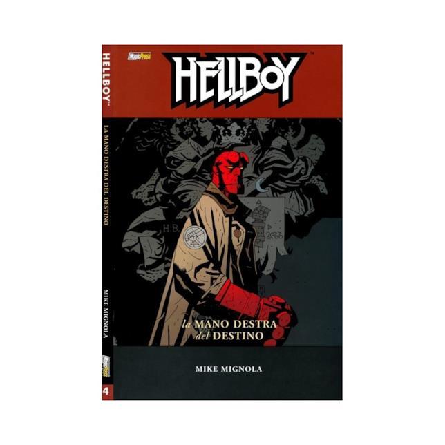 Hellboy nella cover dell'albo La Mano destra del Destino