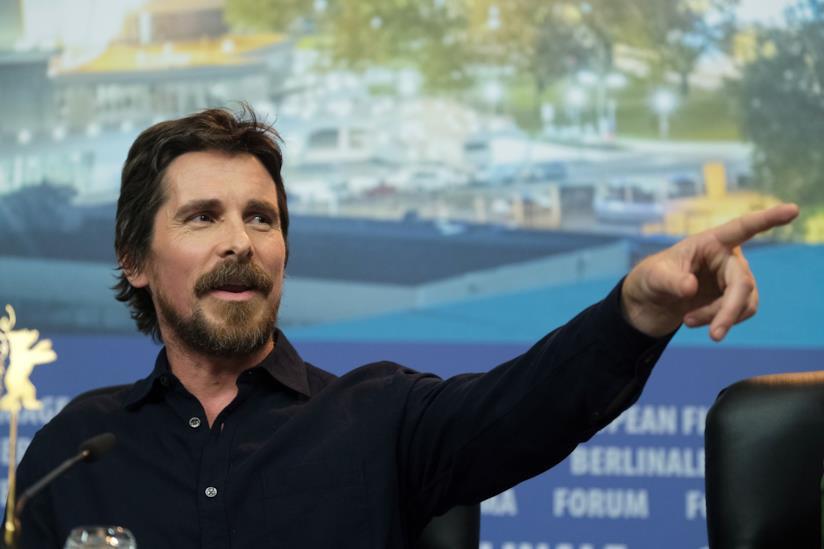 Una foto di Christian Bale alla 69esima edizione della Berlinale