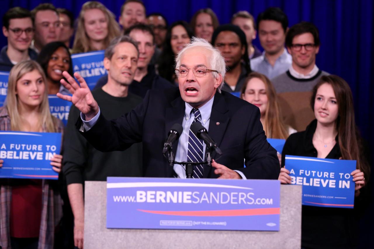 Bernie Sanders secondo Jimmy Fallon