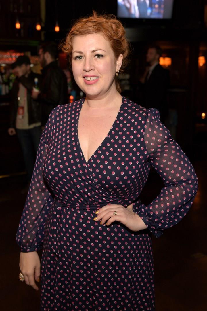 Jeanie Finlay in posa per i fotografi