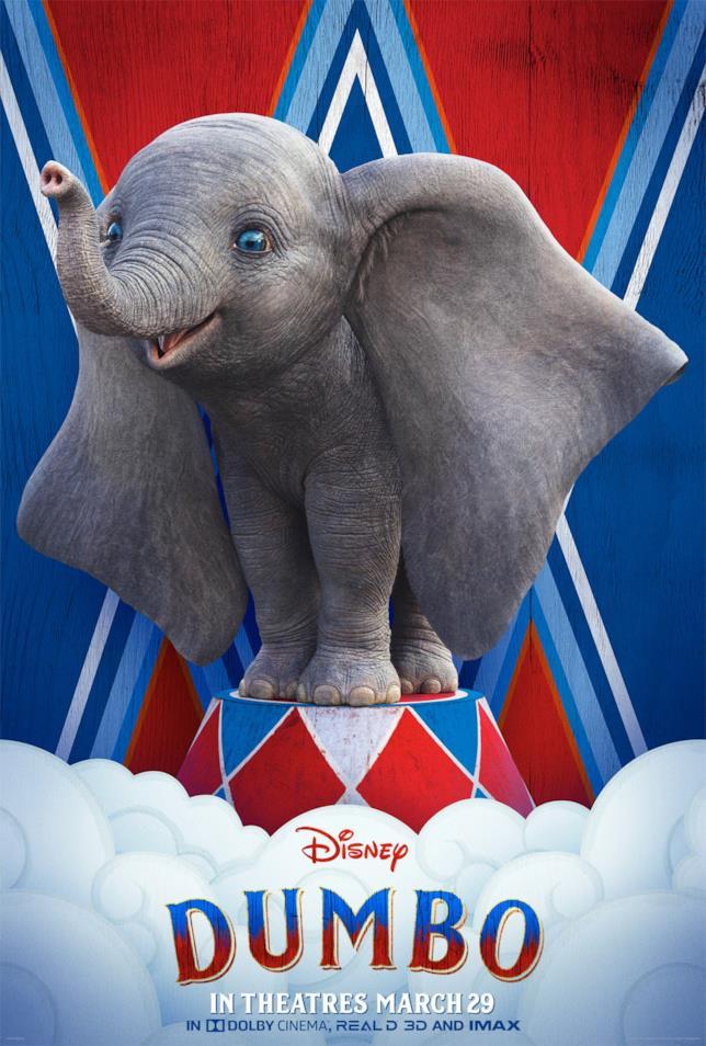 Dumbo arriverà nelle sale italiane il 28 marzo