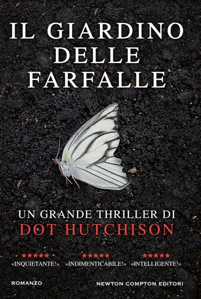 Copertina del thriller Il giardino delle farfalle