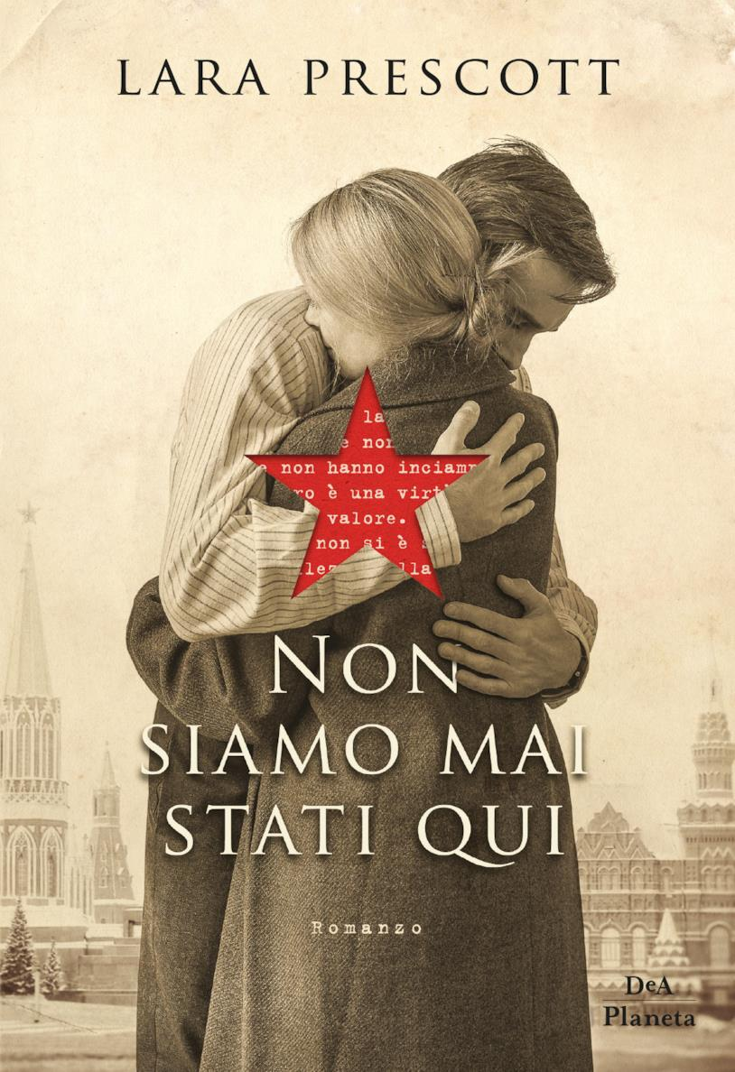 La copertina italiana di Non siamo mai stati qui