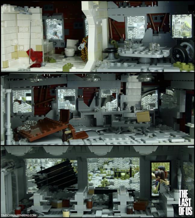 Il mondo di The Last of Us in versione LEGO