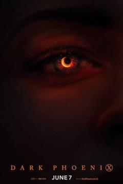 L'occhio di Jean Grey col potere della Fenice