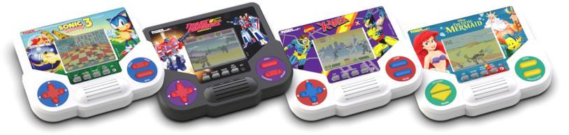 I quattro nuovi videogiochi Tiger Electronics di Hasbro