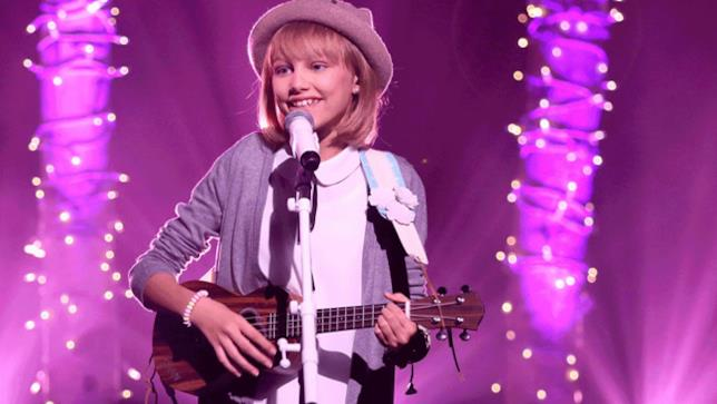 Grace VanderWaal al The Tonight Show con Jimmy Fallon