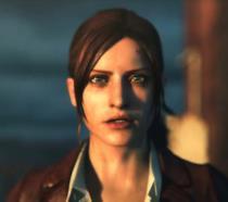 Un primo piano di Claire Redfield da Resident Evil Revelations 2
