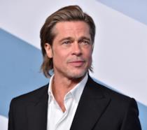 Una mezza figura di Brad Pitt