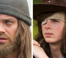 L'attore Tom Payne commenta i recenti rumors sulla possibili morte di Carl in The Walking Dead