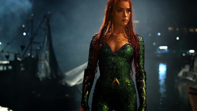 Amber Heard interpreta Mera
