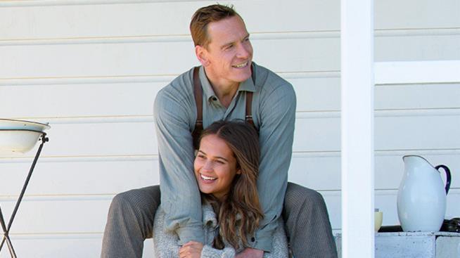 Alicia Vikander e Michael Fassbender