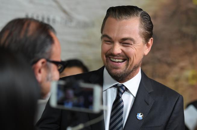 Leonardo DiCaprio a un evento ufficiale