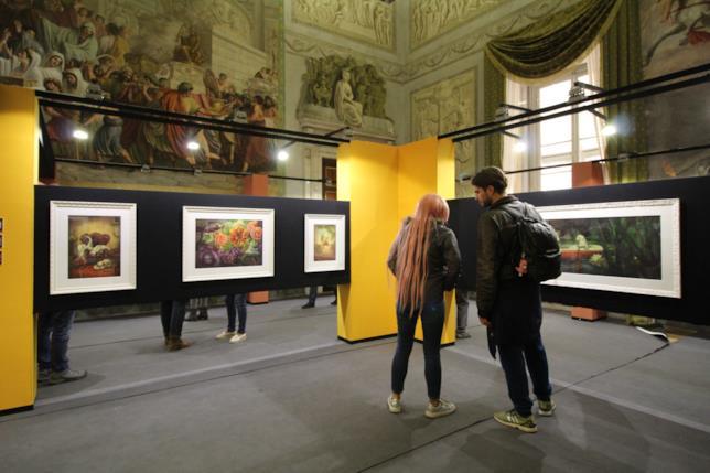 Lo spazio espositivo di Benjamin Lacombe a Palazzo Ducale