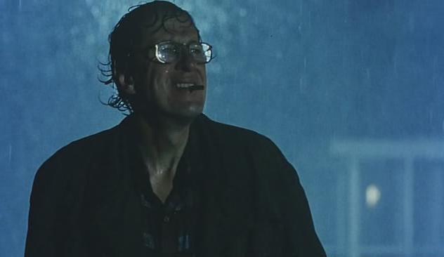 L'attore Geoffrey Rush in una scena del film Shine