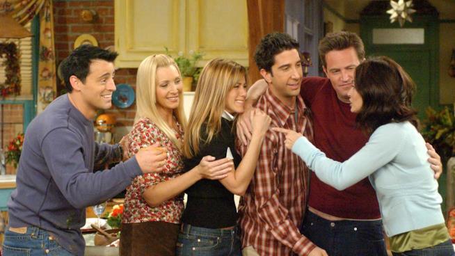 I protagonisti di Friends