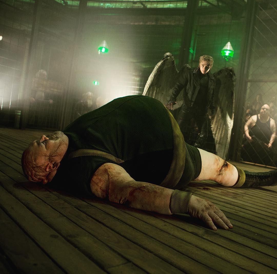 Il mutante angelo mette Blob a tappeto