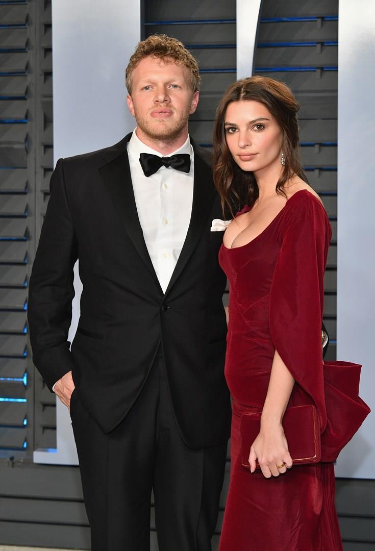 Emily Ratajkowski e il marito Sebastian Bear-McClard