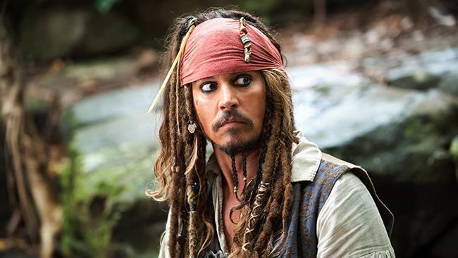 Johnny Depp in Pirati dei Caraibi