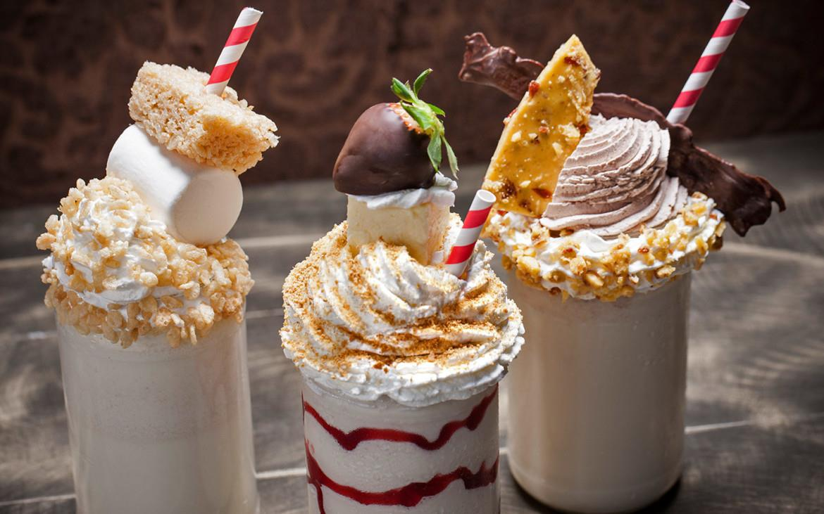 Dessert con panna del ristorante The Toothsome Chocolate Factory & Savory Feast Emporium