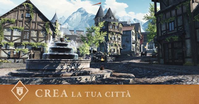 Un'immagine di presentazione di The Elder Scrolls Blades