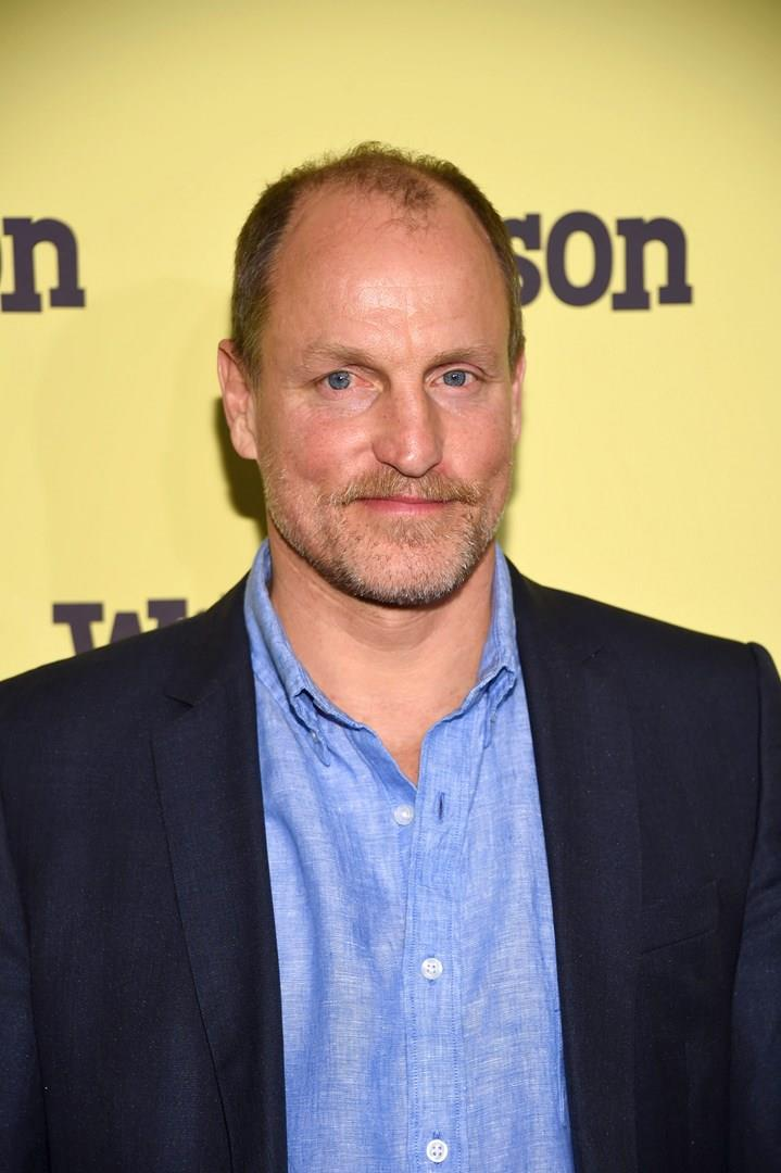 Woody Harrelson in primo piano