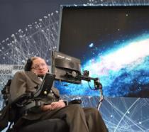 Il fisico e matematico Stephen Hawking