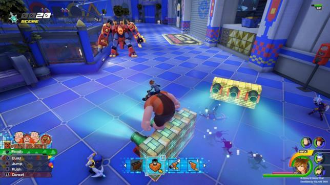 Ralph Spaccatutto invocato da Sora in Kingdom Hearts 3