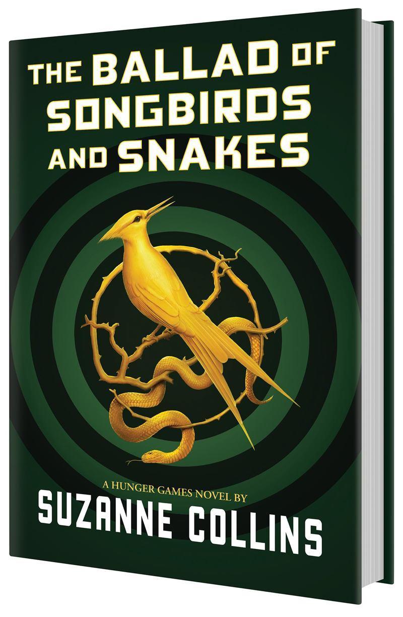 La copertina di The Ballad of Songbirds and Snakes