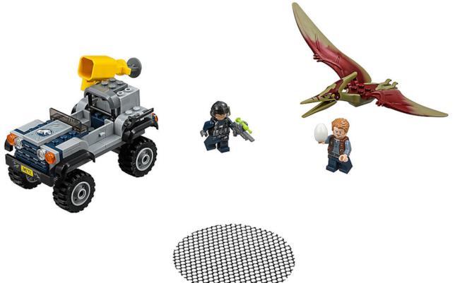 Dettagli del set LEGO Inseguimento dello Pteranodonte