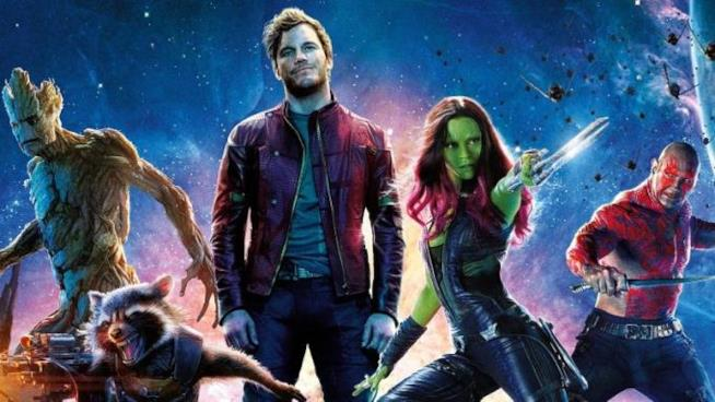 Un'immagine promozionale dei Guardiani della Galassia