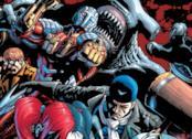 La Suicide Squad in un'immagine tratta dai fumetti DC Comics
