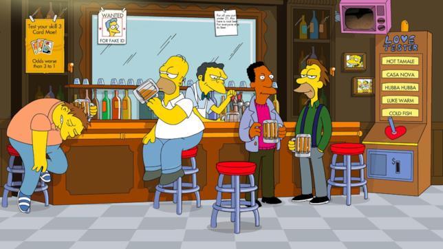 La taverna di Boe de I Simpson