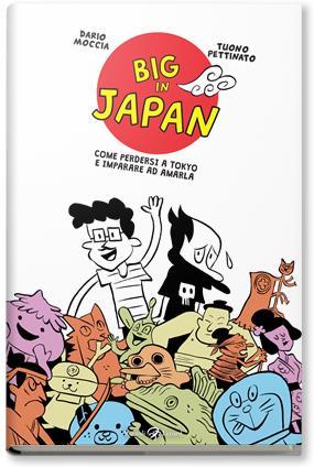 La copertina del fumetto Big in Japan