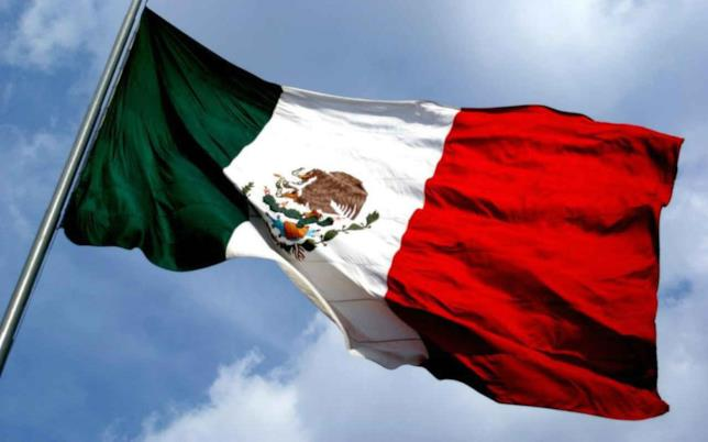 La bandiera del Messico